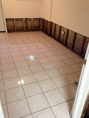 Basement Cleanup Floor