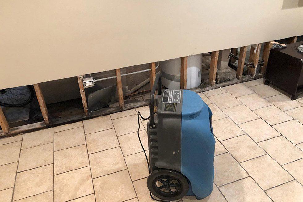 Basement Damage Cleanup