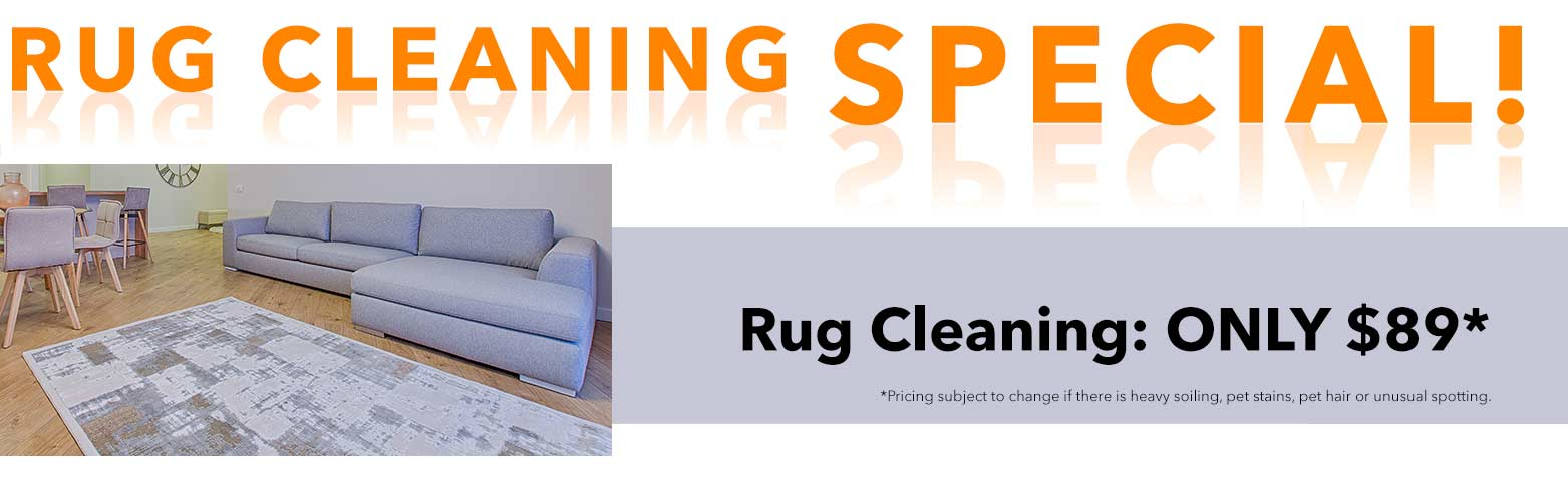 Rug Cleaning Special