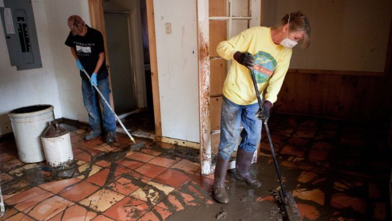 Basement Floor Cleanup Highland Park IL